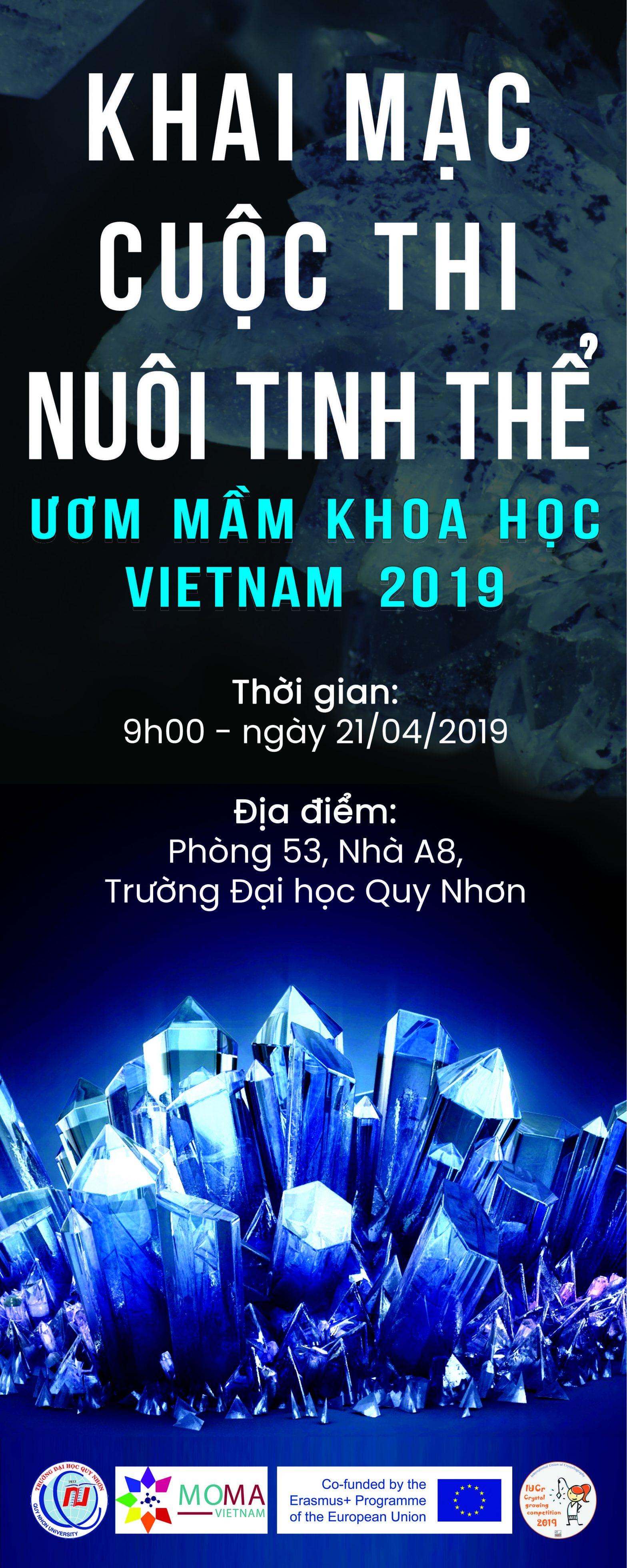 Khai mạc Hội thi Nuôi đơn tinh thể 2019 khu vực Duyên hải Nam Trung bộ và Tây Nguyên