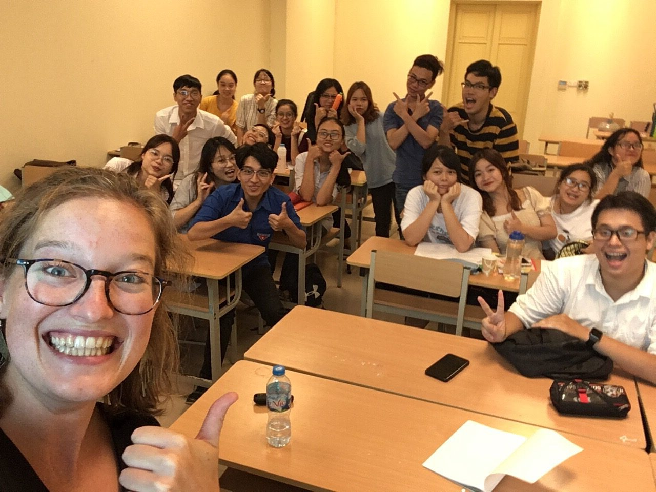 Academic English course for staff members and students from the Faculties of Chemistry and Physics