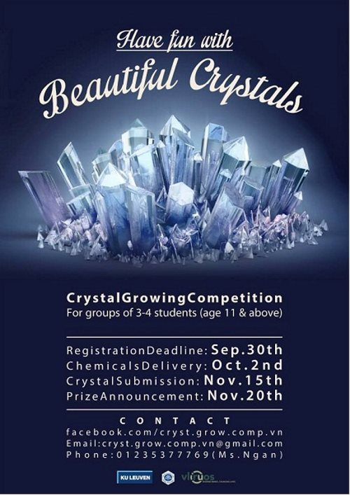 Results of the Crystal Growing Competition 2019 in the Northern Vietnam